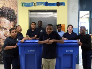 Lee School Recycling Team 2015