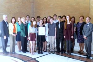 BLS Wins Green Ribbon Award