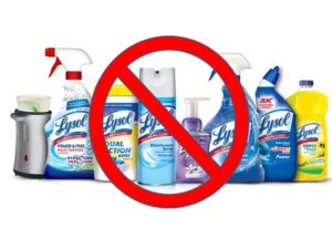 NO Lysol Products