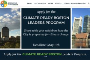 climate ready boston