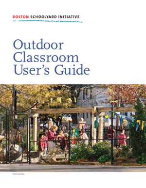 Outdoor Classroom User Guide Cover