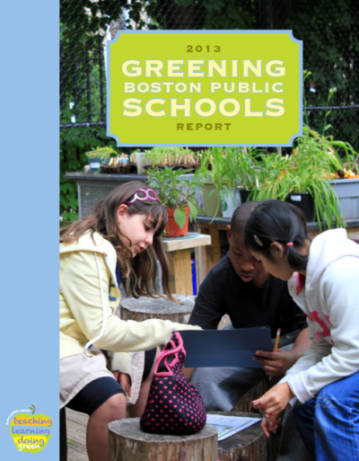 Greening BPS Report 2013 Cover