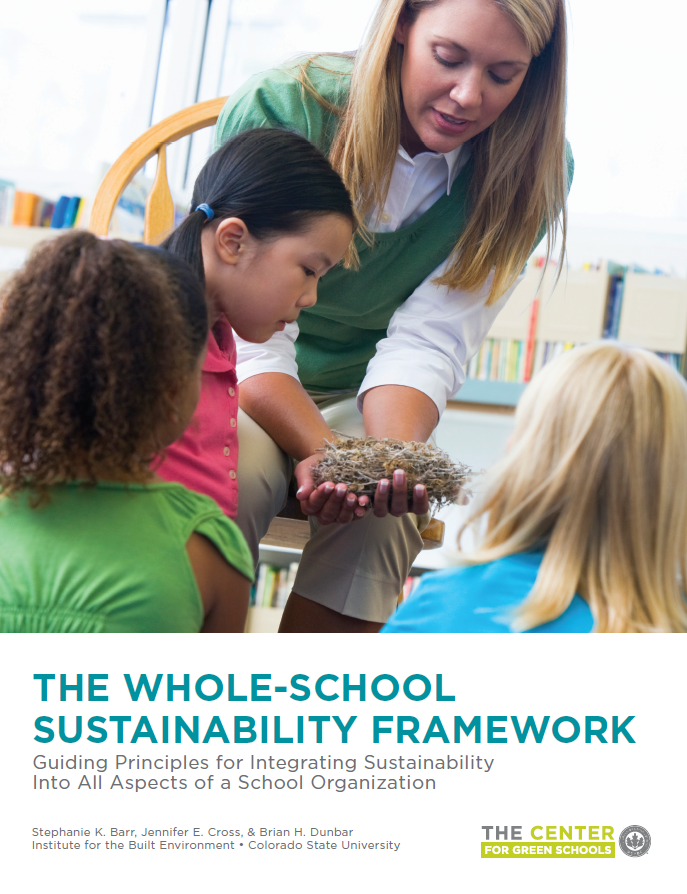 Whole School Sustainability Cover