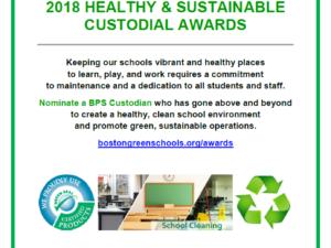 2018 Healthy & Sustainable Custodial Awards