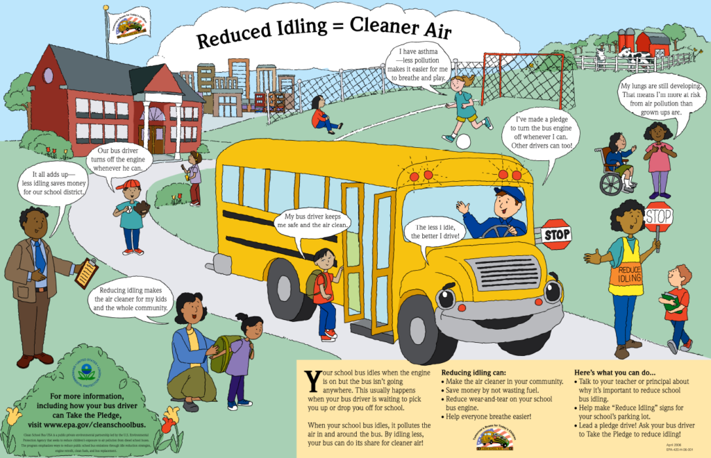 Clean School Bus Idle Reduction